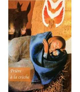 "Carte Prière ""Prière à la crèche"" (CA14-0013)"