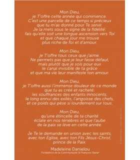 Carte Prière (CA14-0013)