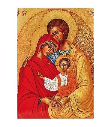 """Carte Prière """"Prière à la Sainte Famille"""" (CA14-0014)"""