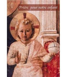 """Carte Prière """"Prière pour notre enfant"""" (CA14-0017)"""