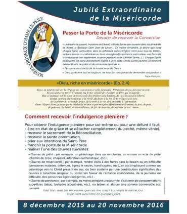 "Poster "" Année Sainte - mode d'emploi Porte Sainte "" (PO15-0019)"
