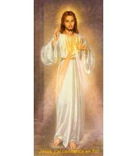 Kakemono Divine Mercy - Jesus, I trust in you