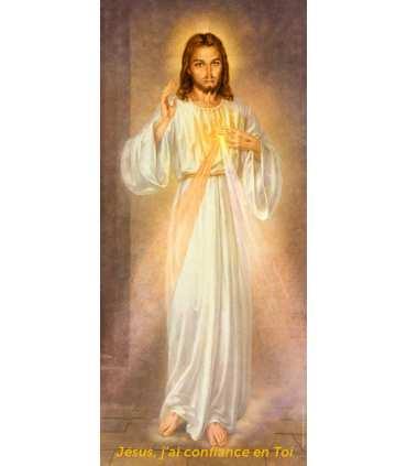 Kakémono Miséricorde Divine - Jésus, j'ai confiance en Toi (KM15-0013)