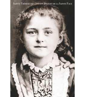 Poster / affiche Sainte-Therese de l'Enfant Jésus et de la Sainte Face (enfant)