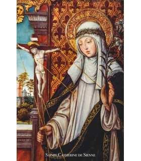 Poster / affiche Sainte Catherine de Sienne