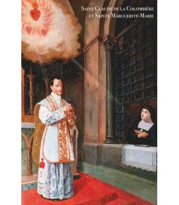 Poster / affiche Saint Claude La Colombière et Sainte Marguerite-Marie
