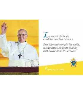 Pape François -  Le secret de la vie ...