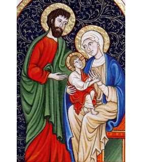 Enluminures - Sainte Famille