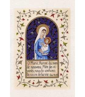 Enluminures - O Marie, Aurore du monde nouveau, ...