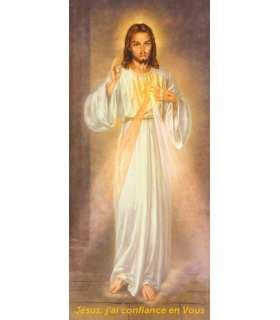Kakémono Miséricorde Divine - Jésus j'ai confiance en Toi