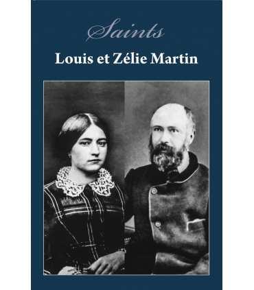 Poster Saints Louis et Zélie Martin (fond bleu) (PO15-0028)