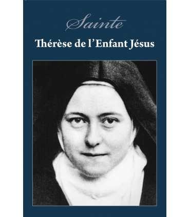 Poster Sainte-Thérèse (fond bleu) (PO15-0029)