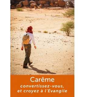 Poster Carême : Convertissez-vous et croyez à l'Evangile (PO15-0031)