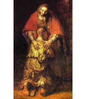 """Grand Format Rembrandt """" Revenez à moi """" (sans texte)"""