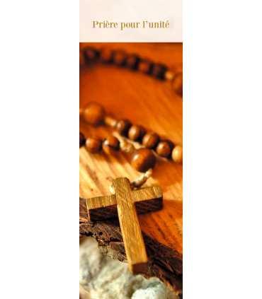 """Signet """"Prière pour l'unité"""" (SAT0072)"""
