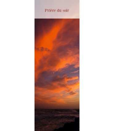 """Signet """"Prière du soir"""" (SAT0059)"""