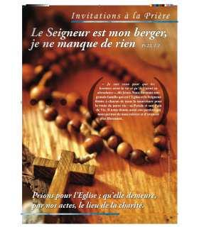 Invitation à la prière (Série de 8 affiches) (EX13-0008)