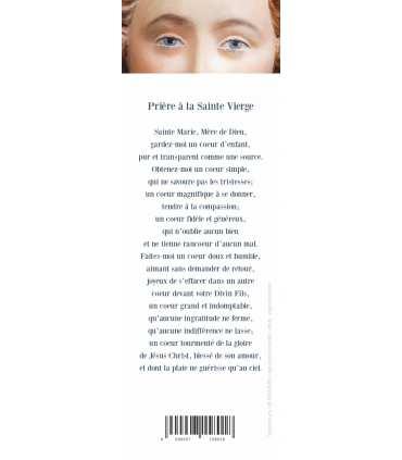 """Lot de 10 Signets """"Prière à la Sainte Vierge"""""""