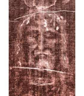 """Prayer card """"Montre-nous Ton Visage, Seigneur et nous serons sauvés"""""""