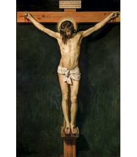 Crucifixion de Velázquez, Diego Rodríguez de Silva - Cristo crucificado - Musee du Prado