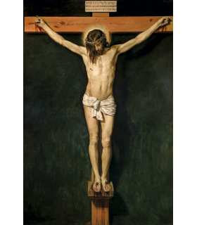 Crucifixion de Velázquez, Diego Rodríguez de Silva - Cristo crucificado (GF15-0041)
