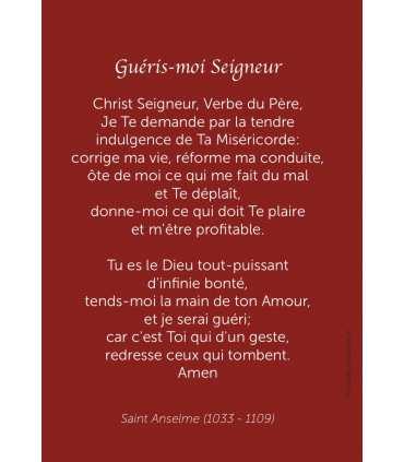 """Carte Prière """"Guéris-moi Seigneur"""" - Le fils prodigue de Rembrandt"""