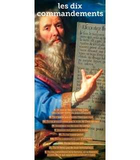 Kakémono liturgique : Les dix Commandements (KM15-0031)