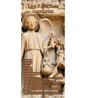 Kakémono liturgique : Les sept péchés capitaux