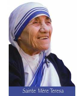 """Carte Prière """"Seigneur, quand je suis affamé…"""" Sainte Mère Teresa"""