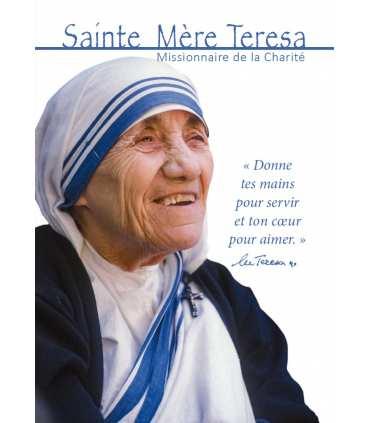 Carte postal : Canonisation de Mère Teresa de Calcutta