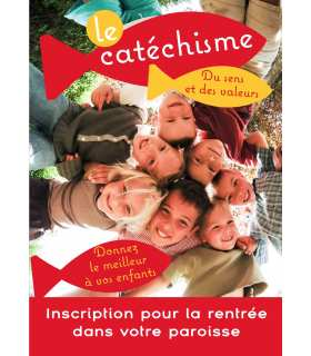 Poster Cathéchisme Personnalisable (PO15-0040)