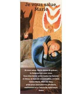 Kakémono liturgique : Je vous salue Marie (KM15-0036)
