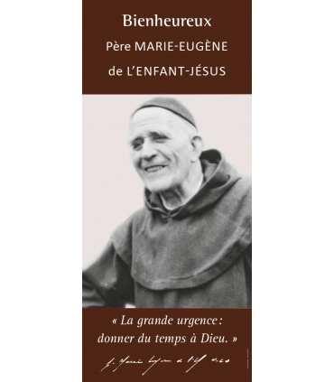 Kakémono Bienheureux Père Marie-Eugène de L'Enfant-Jésus (KM15-0037)