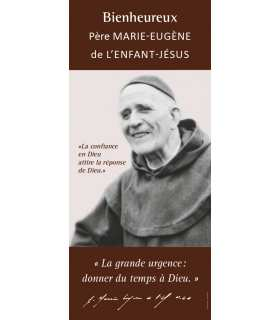 Kakémono Bienheureux Père Marie-Eugène (KM15-0038)