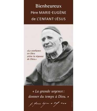 Kakémono Bienheureux Père Marie-Eugène de L'Enfant-Jésus (KM15-0038)