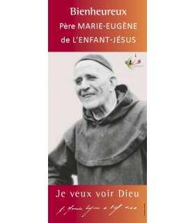 Kakémono Bienheureux Père Marie-Eugène (KM15-0039)