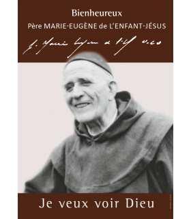 Poster Bienheureux Père Marie-Eugène de l'Enfant-Jésus (PO15-0041)