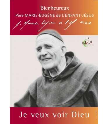 Poster Bienheureux Père Marie-Eugène de l-Enfant-Jésus (PO15-0042)