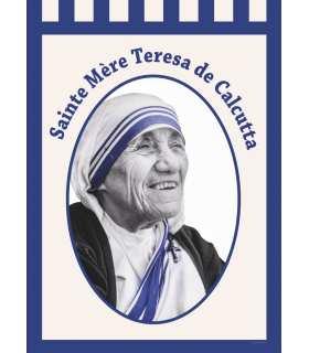 Bannière Sainte Mère Teresa de Calcutta (BA16-0002)