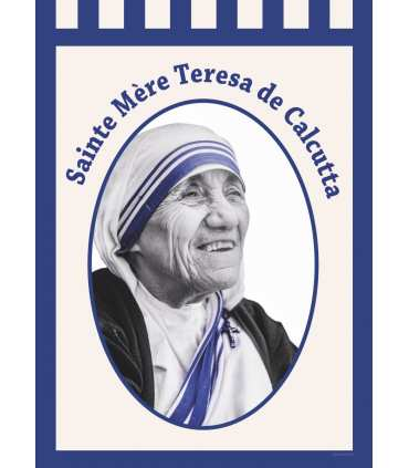 Bannière Sainte Mère Teresa