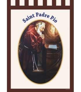 Bannière Saint Padre Pio (BA16-0003)