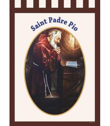 Bannière Saint Padre Pio