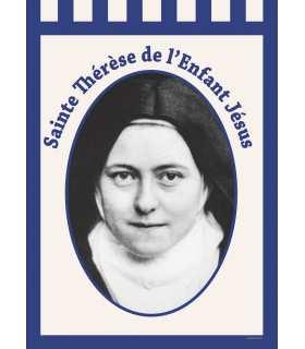 Bannière Sainte Thérèse de l'Enfant Jésus (BA16-0004)