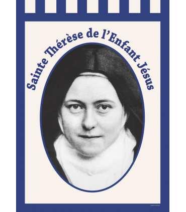 Bannière Sainte Thérèse de l'Enfant Jésus