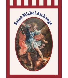 Bannière Saint Michel Archange (BA16-0006)