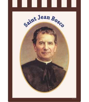 Bannière Saint Jean Bosco (BA16-0007)