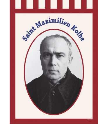 Bannière Saint Maximilien Kolbe
