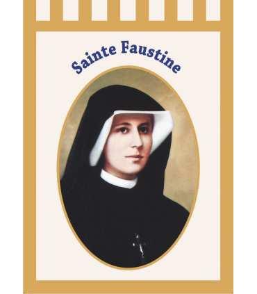 Bannière Sainte Faustine (BA16-0009)