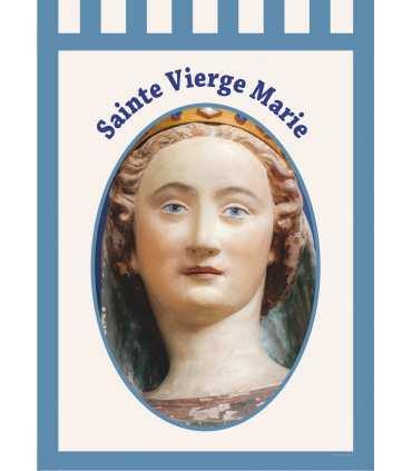 Bannière Sainte Vierge Marie