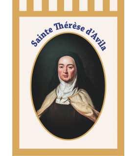 Bannière Sainte Thérèse d'Avila (BA16-0012)